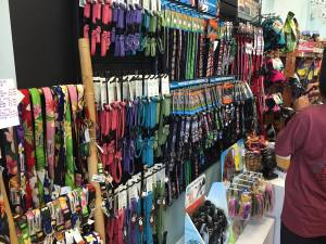 Aloha Pawz carries a variety of locally-made products, including collars and leashes.