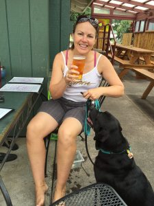 Dog-friendly Big Island Brewhaus in Kamuela (Waimea)! Great craft beer and delicious food!