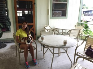 Paulla Speegle with her rescued Cavalier, Duncan. Paulla is owner of Aloha Pawz Dog & Cat Boutique, a natural pet (dog and cat) store in Hilo that opened in July 2015. You can find her store on Facebook and on the internet.